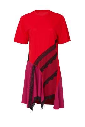 Lace T-Shirt Dress by Koché