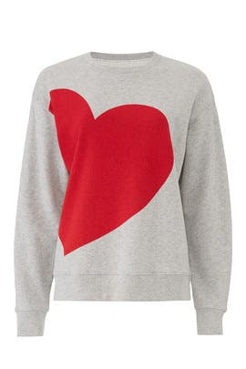 Heart Sweatshirt by kate spade new york