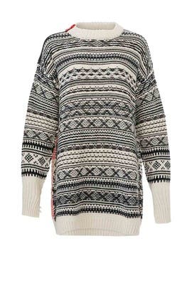 Fair Isle Oversize Sweater by (nude)