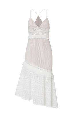 White Cole Dress by Saylor