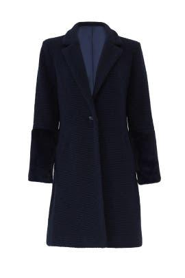 Navy Elaina Coat by Hutch