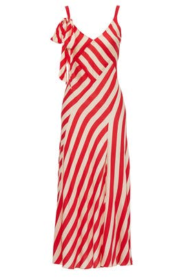 Red Striped Maxi by Jill Jill Stuart