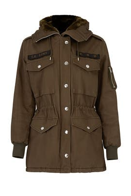 Army Green Parka by The Kooples