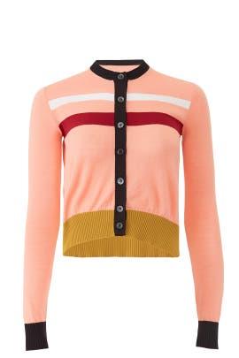Colorblock Knit Cardigan by Marni