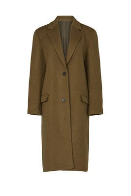 Classic Melton Coat by 3.1 Phillip Lim