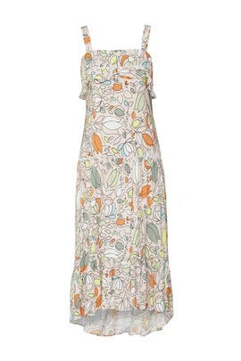 Floral Peasant Dress by Slate & Willow