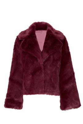 Faux Fur Madam Butterfly Jacket by Unreal Fur