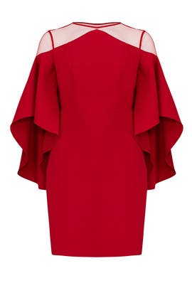 Red Drama Dress by ELOQUII