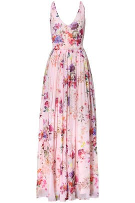 Pink Floral Fields Maxi by Slate & Willow