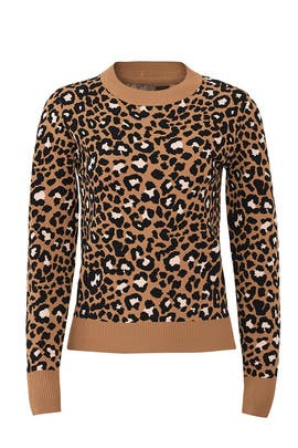 Leopard Print Sweater by Tara Jarmon