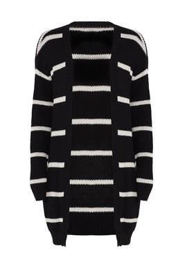 Striped Cardigan by BB Dakota
