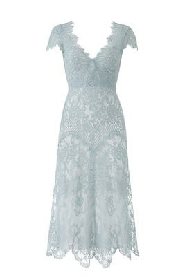 Blue Lace Miya Dress by CATHERINE DEANE