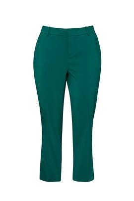 Green Tapered Leg Trousers by Jason Wu x ELOQUII
