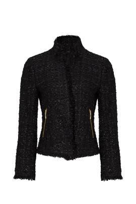 Black Shimmer Tweed Jacket by kate spade new york