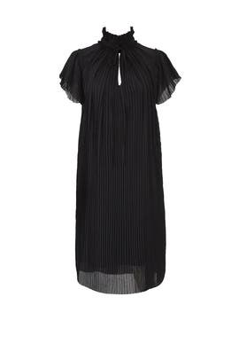 Plisse Neck Tie Dress by Opening Ceremony
