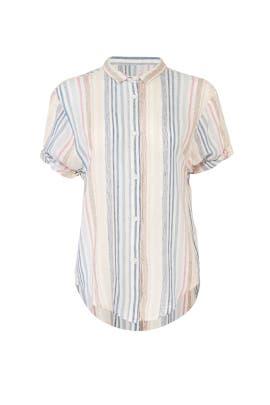Arco Iris Stripe Shirt by Splendid