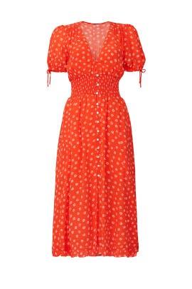 Orange Olivia Dress by Cleobella