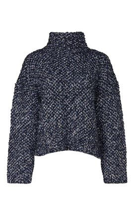 Blue Chunky Sweater by 3.1 Phillip Lim