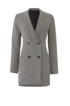 Herringbone Blazer Dress by ASTR