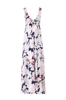 Rose Floral Aurora Maxi by Cynthia Rowley