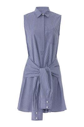 Sleeveless Tie-Waist Shirtdress by Derek Lam 10 Crosby