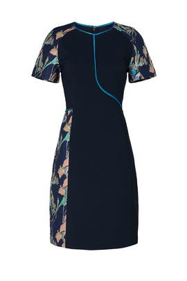 Navy Floral Sheath by Jason Wu Collective