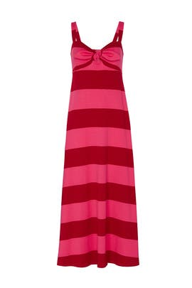 Knit Tie Front Dress by MDS Stripes