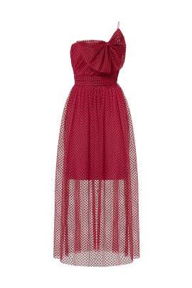 Polka Dot Fantasy Dress by ML Monique Lhuillier