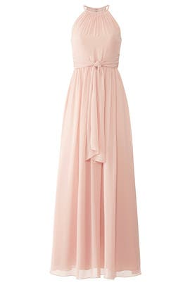 Pink Daniela Gown by Monique Lhuillier Bridesmaid