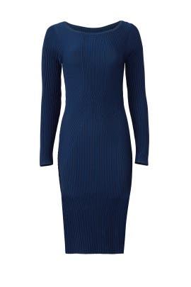 January Knit Dress by Nicole Miller