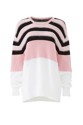 Multicolor Knit Sweater by No. 21