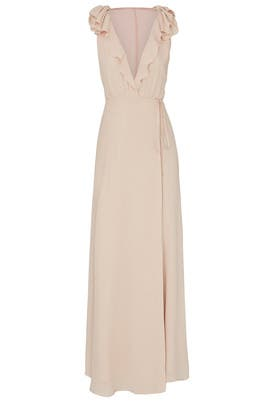 Champagne Peppermint Dress by Reformation