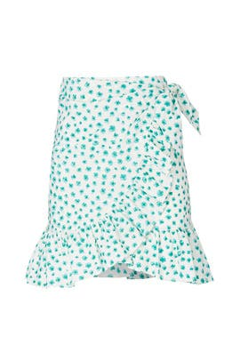 Emerald Daisy Skirt by Rebecca Taylor
