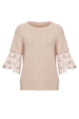 Blush Pullover Sweater by See by Chloe