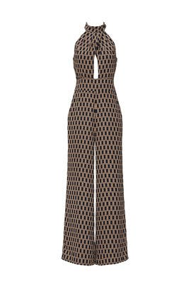 Geo Print Jumpsuit by Louna