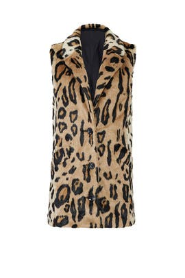 Wild at Heart Faux Fur Vest by Unreal Fur