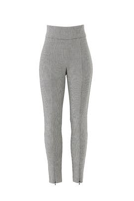 Grey Skinny Zip Pants by Fifteen Twenty