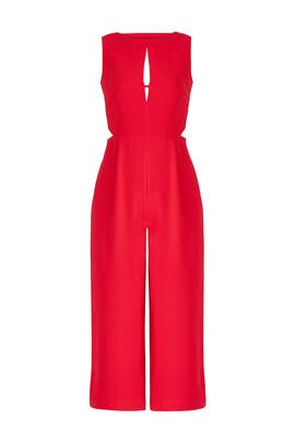 Red Artemis Jumpsuit by Greylin
