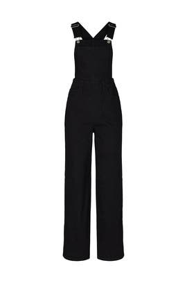Black Loose Overalls by Levi's