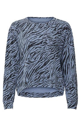 Zebra Sweatshirt by Sundry