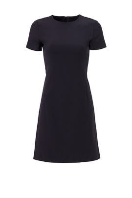 Navy Technical T Dress by Theory