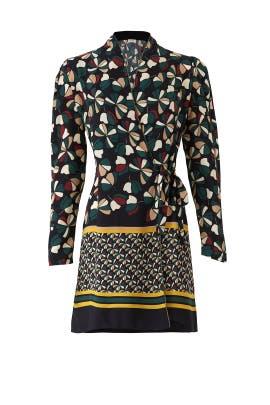 Ophelia Printed Dress by Deby Debo
