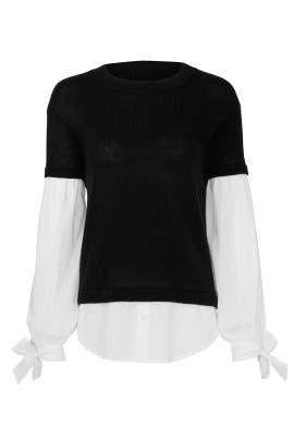 Black Flare Sweater by devlin