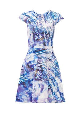 Marbled Over Dress by GABRIELA CADENA
