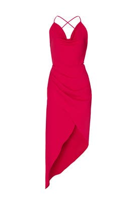 Holly Asymmetrical Dress by HANEY