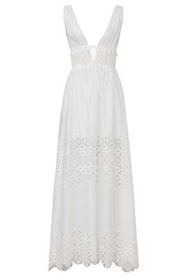 Waverly Floral Smocked Dress by Jonathan Simkhai