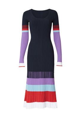 Multi Ribbed Dress by Prabal Gurung