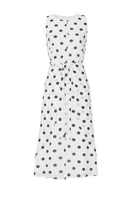 Ivy Dotted Midi Dress by RACHEL ROY COLLECTION