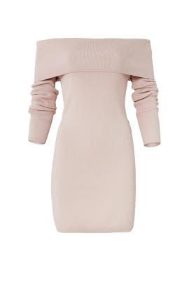 Blush Vana Knit Dress by STYLESTALKER