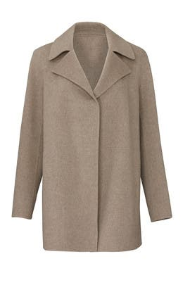 New Divide Overlay Coat by Theory